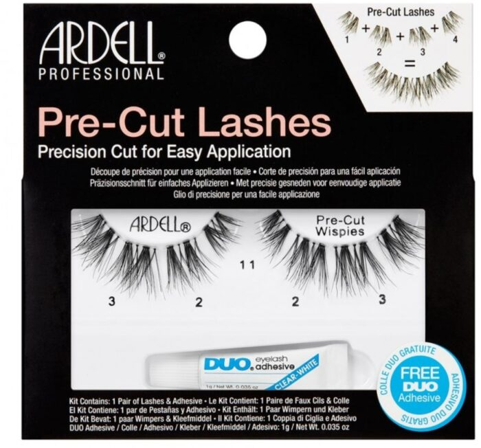 Ψεύτικες βλεφαρίδες ARDELL Pre-Cut Lashes Pre-Cut Wispies